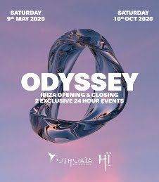 USHUAIA CLOSING PARTY - ODYSSEY